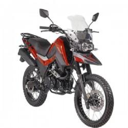 Moto SHINERAY A-venture Rojo