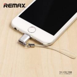ADAPTADOR REMAX RA-USB2 PLATEADO