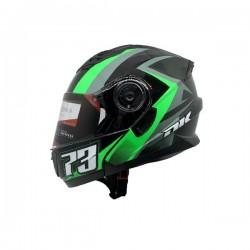 Casco DK Convertible JH901 73 Talla L Verde Brillante