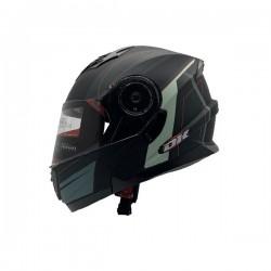Casco DK Convertible JH901 Lineal Talla L Negro Mate